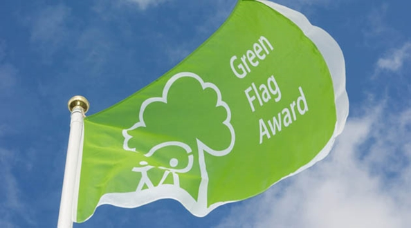 Record-breaking number of green flags flying over the UK's very best green spaces