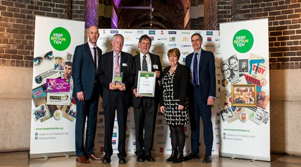 Parks volunteers wins top Green Flag Award Volunteer of the Year