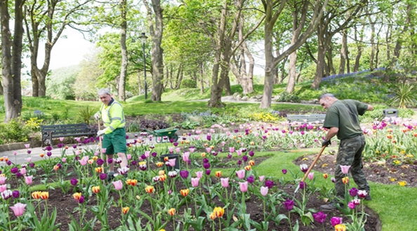 Funding announced for parks and green spaces
