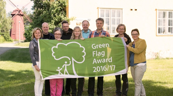 Park in Finland is awarded their very first Green Flag