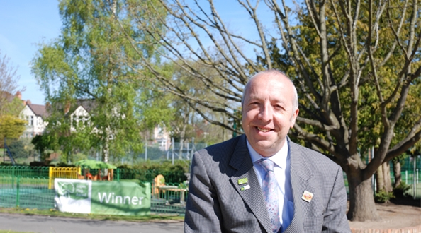 Royal honour for Green Flag Award volunteer judge