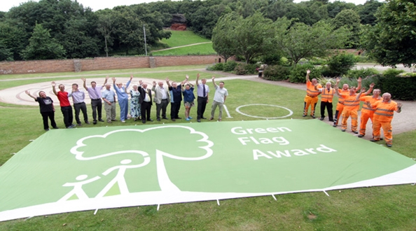 Ten award winning years for Bramcote Hills Park in Nottingham