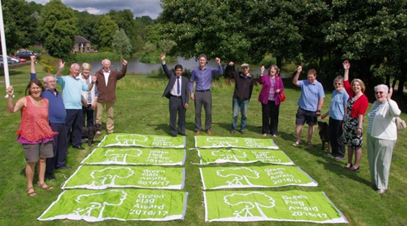 Pendle in Lancashire retain prestigious Green Flag Awards