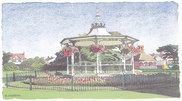 Pledge to restore the Bowie Bandstand