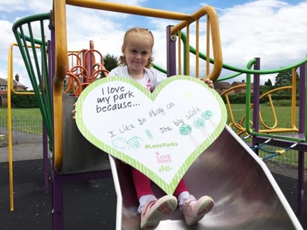 Tell the world why you love your park