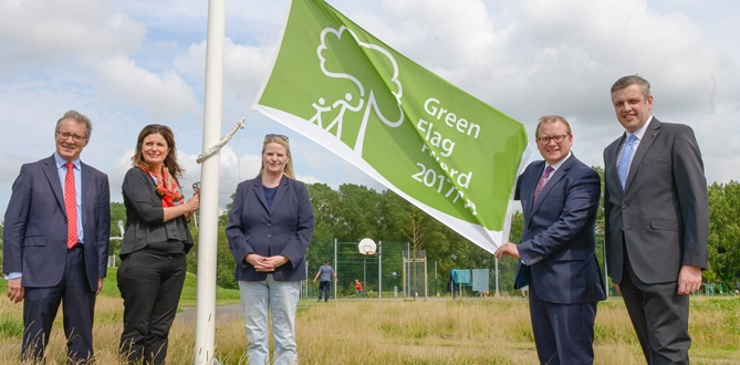 Green Flags to keep flying over the country's best parks