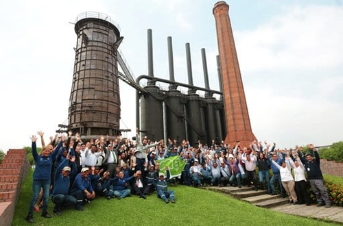 Parque Fundidora in Monterrey celebrate first Green Flag Award in Mexico